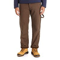 Men's Stanley Classic-Fit Fleece-Lined Carpenter Jeans
