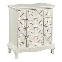 Jeweled Chairside Cabinet