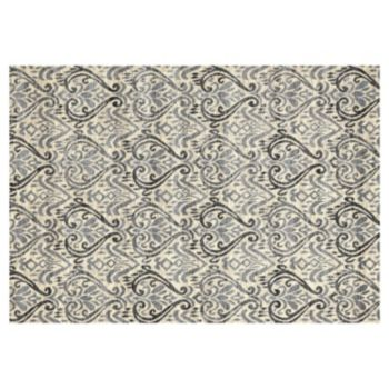 Merinos Lumina Tulips Scroll Rug