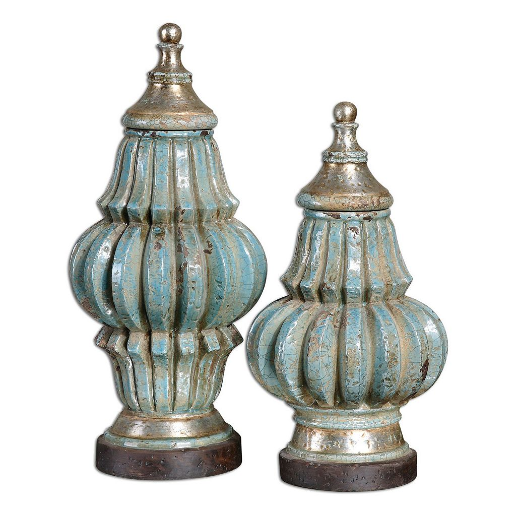 Fatima Urns Table Decor 2-pc. Set
