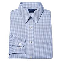 Big & Tall Croft & Barrow® Spread-Collar No-Iron Dress Shirt