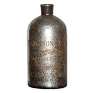 """Lamaison"" Mercury Glass Jar Table Decor"