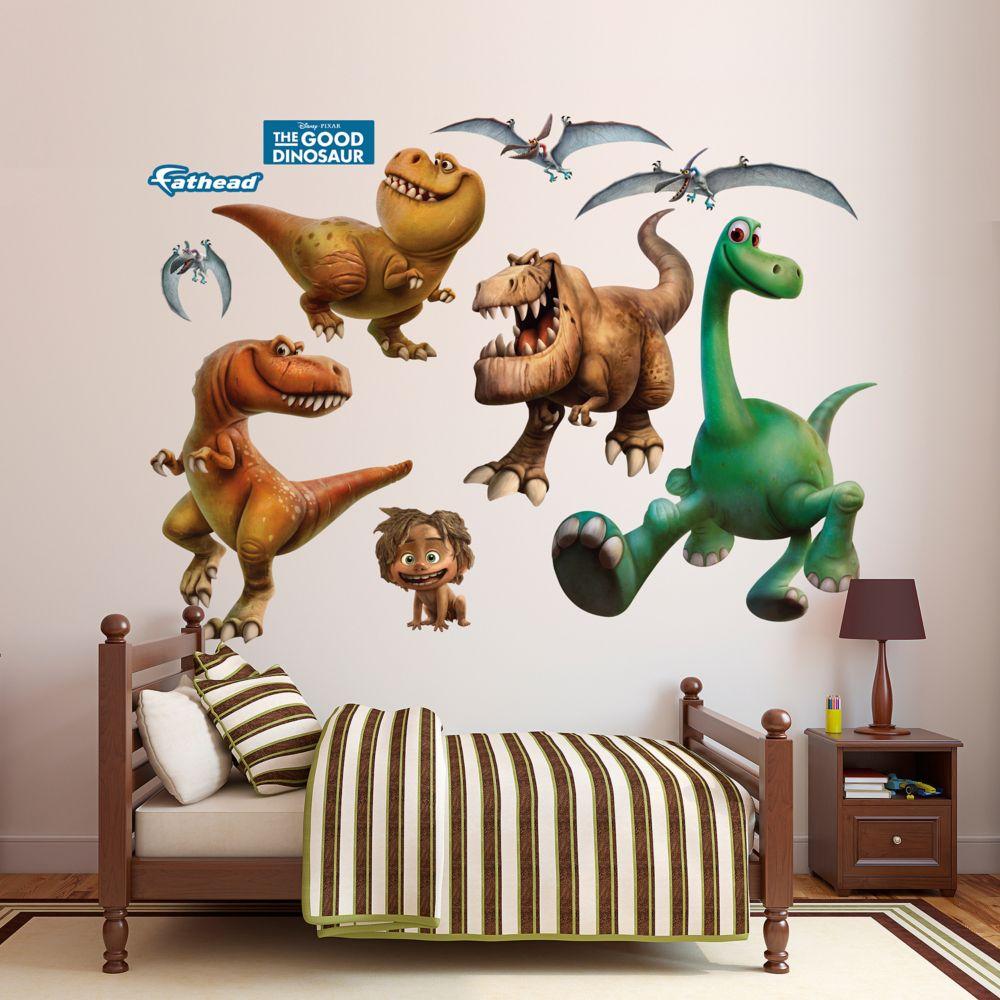 pixar the good dinosaur character wall decals by fathead disney pixar the good dinosaur character wall decals by fathead