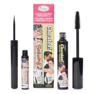 theBalm Schwing Liquid Eyeliner & Cheater Mascara Set
