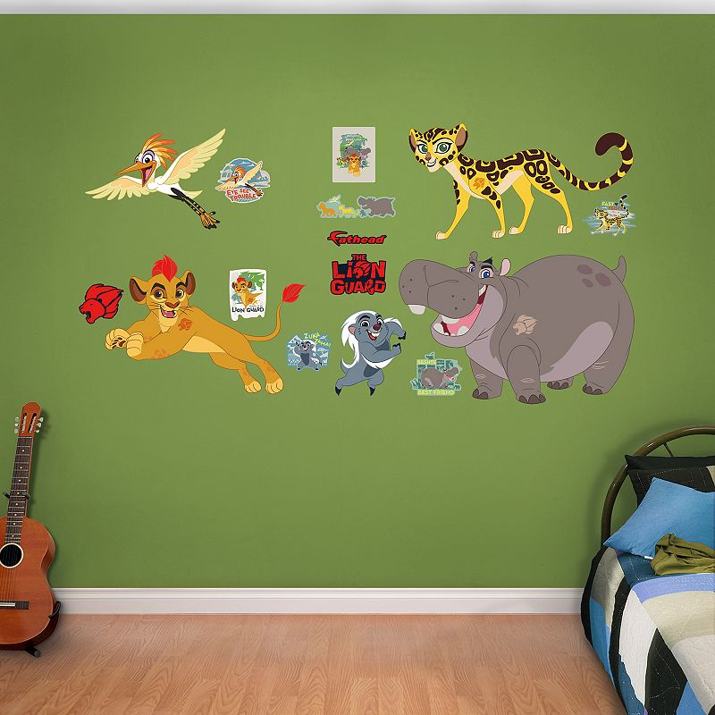 Disney's The Lion Guard Wall Decal by Fathead, Multicolor