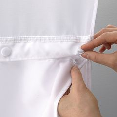 Hookless Fabric Snap-In Liner