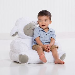 Trend Lab Plush Lamb Chair