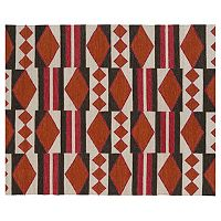 Kaleen Nomad Tribal Geometric Reversible Wool Rug - 9' x 12'