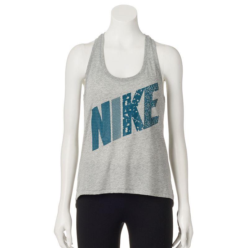 Women's Nike Prep Mixed Print Racerback Tank