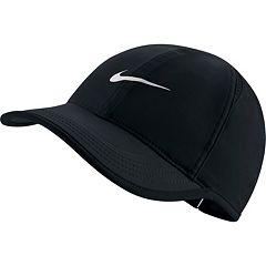 764c5ca40e7 Women s Nike Featherlight Dri-FIT Hat. Black White