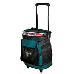 Logo Brand Jacksonville Jaguars Rolling Cooler