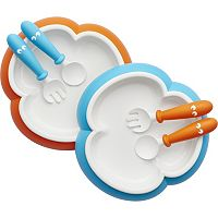 BabyBjorn 6-pc. Baby Spoon, Fork & Plate Set
