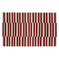 Kaleen Nomad Stripes Reversible Wool Rug