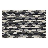 Kaleen Nomad Diamond Geometric Reversible Wool Rug
