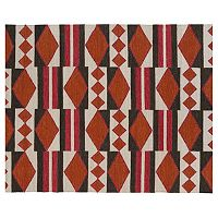 Kaleen Nomad Tribal Geometric Reversible Wool Rug