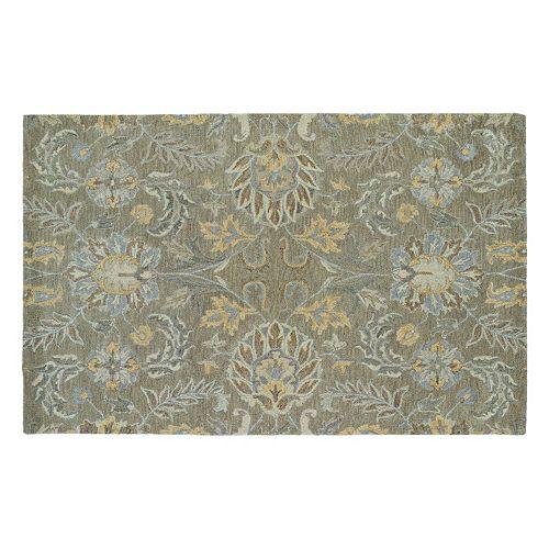 Kaleen Helena Hermes Floral Wool Rug