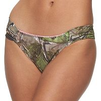 Juniors' Realtree Camouflage Bikini Bottoms