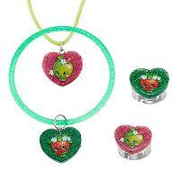 Shopkins Apple Blossom & Strawberry Kiss Kids' Jewelry Set