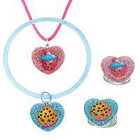 Shopkins Kooky Cookie & Cupcake Chic Kids' Jewelry Set