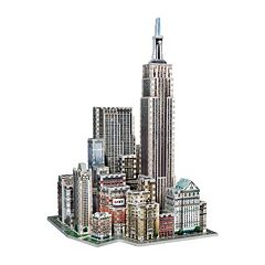 New York Collection Midtown West 900-Piece 3D Puzzle by Wrebbit by