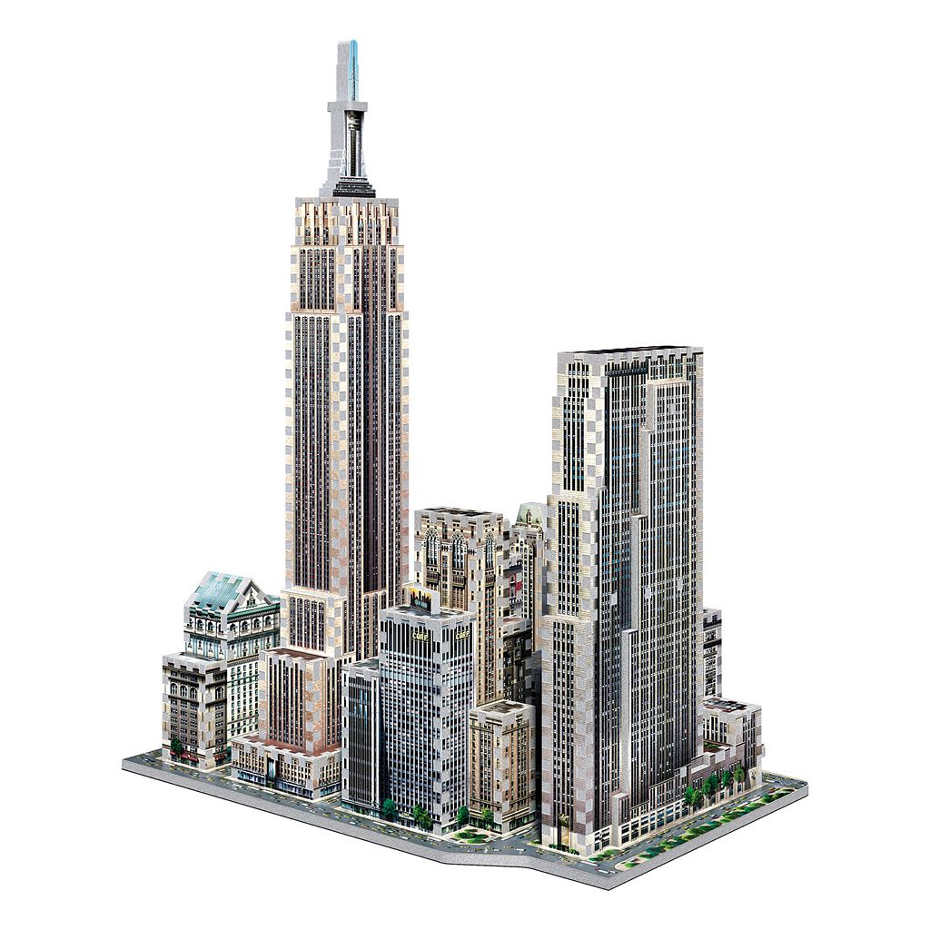 New York Collection Midtown West 900-Piece 3D Puzzle by Wrebbit