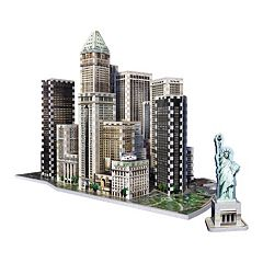 New York Collection Financial District 925-Piece 3D Puzzle by Wrebbit by