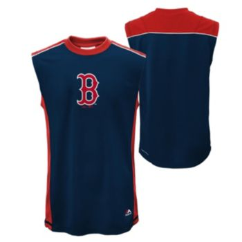 Boys 4-7 Majestic Boston Red Sox Slide Home Synthetic Muscle Tee