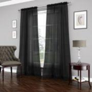 Vue Signature 1-Panel Carrington Luxury Sheer Window Curtain