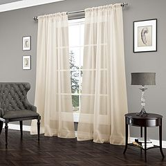 Vue Signature Carrington Luxury Sheer Window Curtain