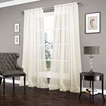 Vue 1-Panel Carrington Luxury Sheer Window Curtain