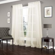 Vue Signature 1-Panel Carrington Luxury Sheer Window Curtain