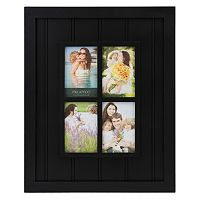 Melannco 4-Opening Windowpane Collage Frame