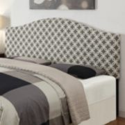 Trellis Upholstered Headboard