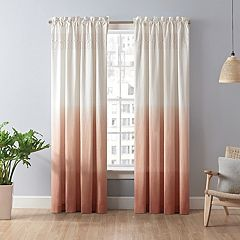 Vue Signature 1-Panel Arashi Ombre Fashion Drapery Window Curtain