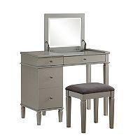 Linon Alexanderia Vanity 2-piece Set