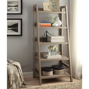 Linon Tracey Ladder Bookshelf
