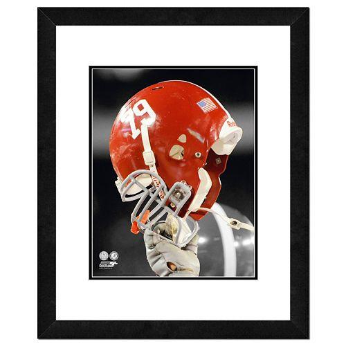 Alabama Crimson Tide Helmet Framed 11