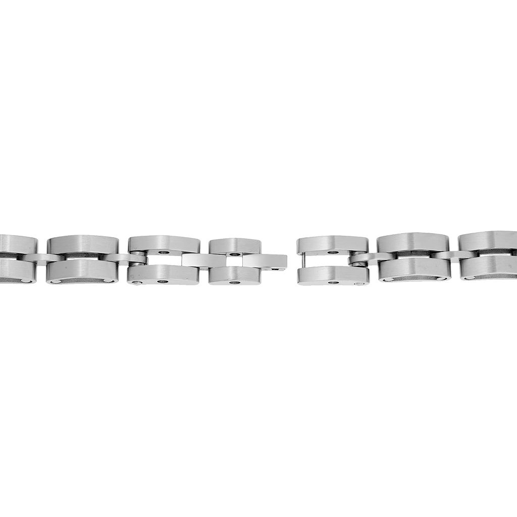 LYNX Men's Stainless Steel Bracelet