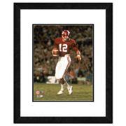 Alabama Crimson Tide Joe Namath Framed 11' x 14' Photo