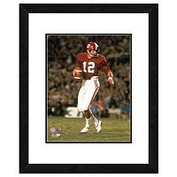 Alabama Crimson Tide Joe Namath Framed 11