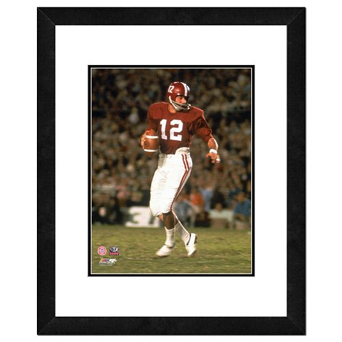 "Alabama Crimson Tide Joe Namath Framed 11"" x 14"" Photo"