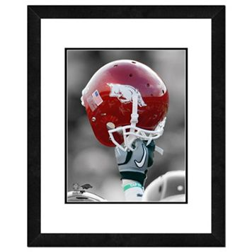 Arkansas Razorbacks Helmet Framed 11