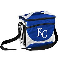Logo Brand Kansas City Royals 24-Can Cooler