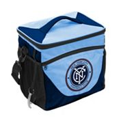 Logo Brand New York City FC 24-Can Cooler