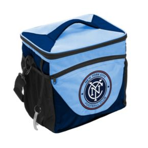 Logo Brand New York City FC 24-Can Cooler