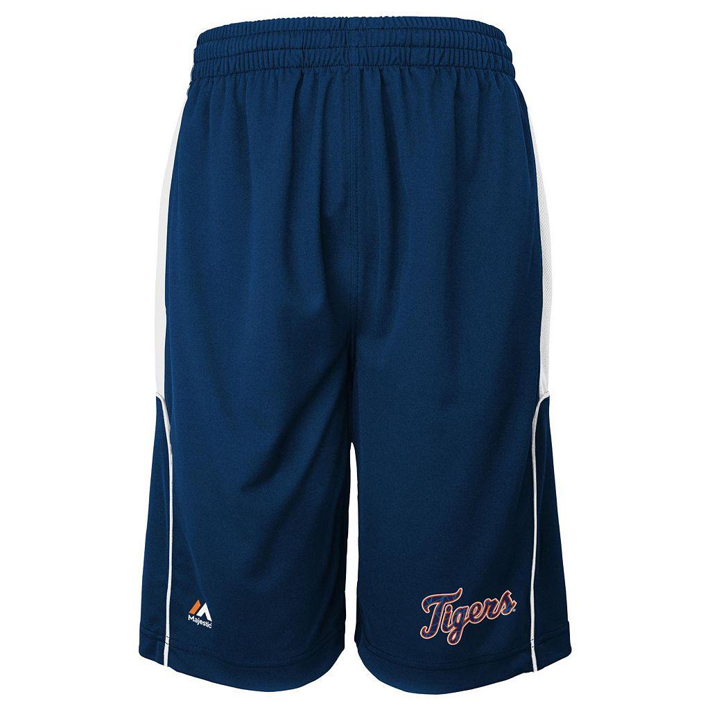 Boys 4-7 Majestic Detroit Tigers Batters Choice Shorts
