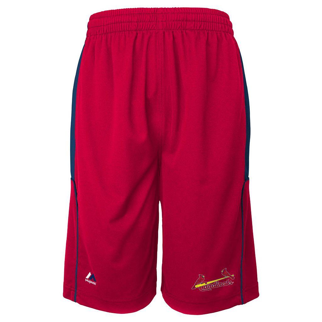 Boys 4-7 Majestic St. Louis Cardinals Batters Choice Shorts