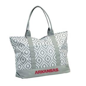 Logo Brand Arkansas Razorbacks Ikat Tote