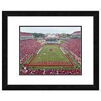 Arkansas Razorbacks Stadium Framed 11