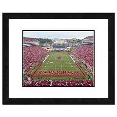 Arkansas Razorbacks Stadium Framed 11' x 14' Photo